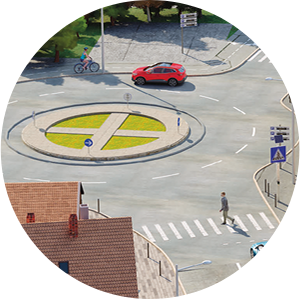 Zoom image rond point