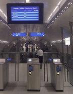 Information voyageurs métro